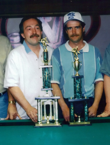 Gary Spaeth and John Brumback Bank Pool Hall of Fame